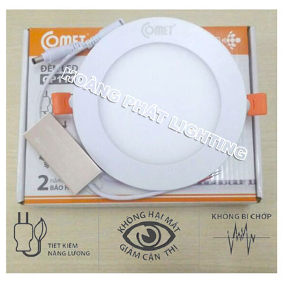 Đèn led Downlight 9W CD512E-9D Comet